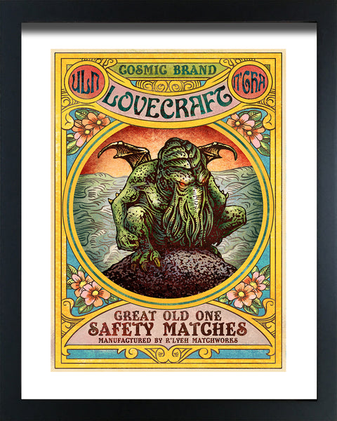 "Chet Phillips ""Cthulhu"" Framed Print"