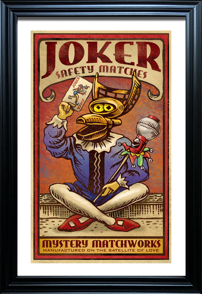 "Chet Phillips ""Mystery Science Joker"" Framed Print"