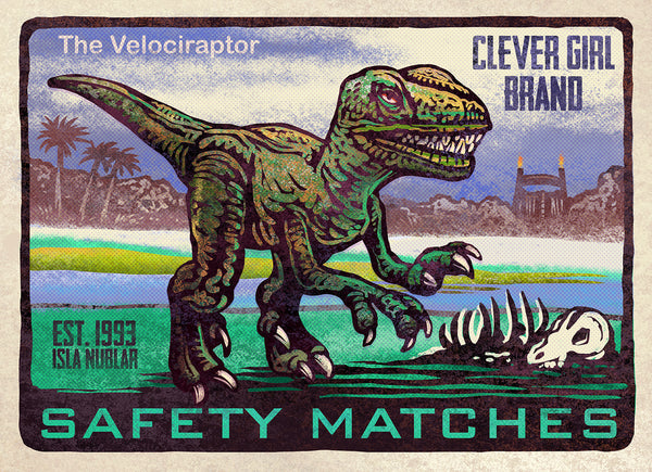 "Chet Phillips ""Clever Girl"" Print"