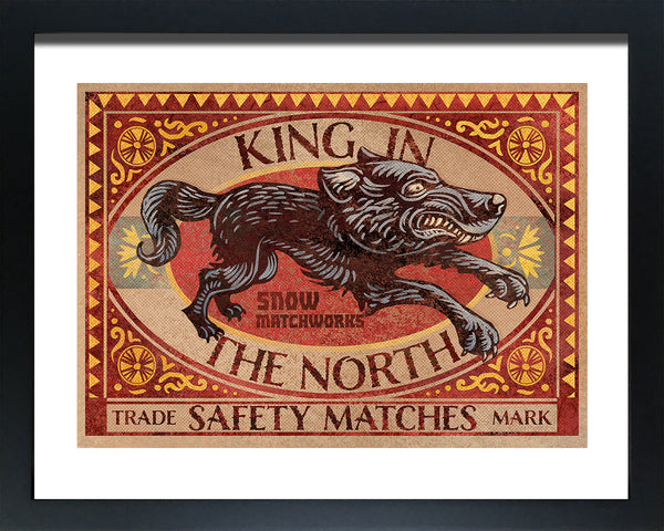"Chet Phillips ""King In The North"" Framed Print"
