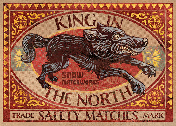 "Chet Phillips ""King In The North"" Print"