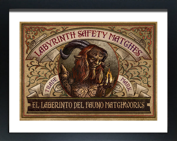 "Chet Phillips ""Labyrinth"" Framed Print"