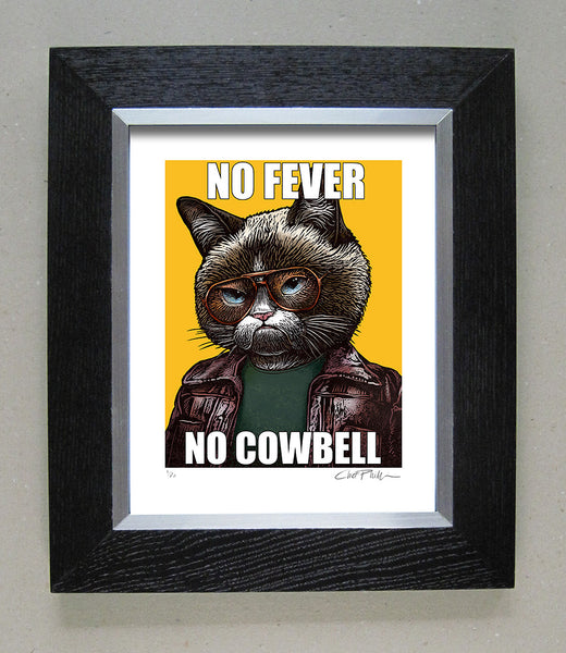 "Chet Phillips ""No Cowbell"" Framed Print"