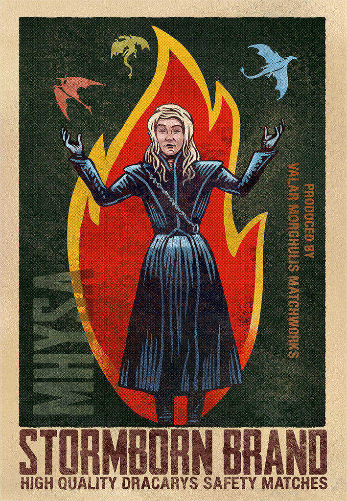 "Chet Phillips ""Mother of Dragons"" Print"