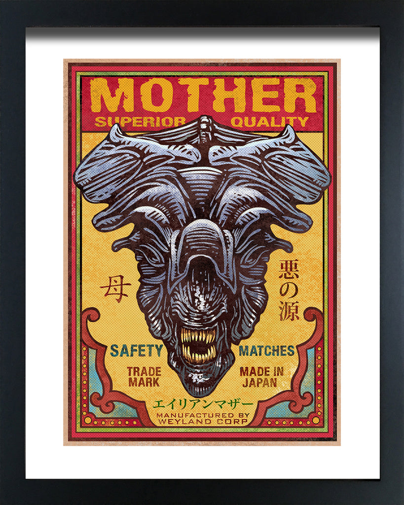 "Chet Phillips ""Mother"" Framed Print"