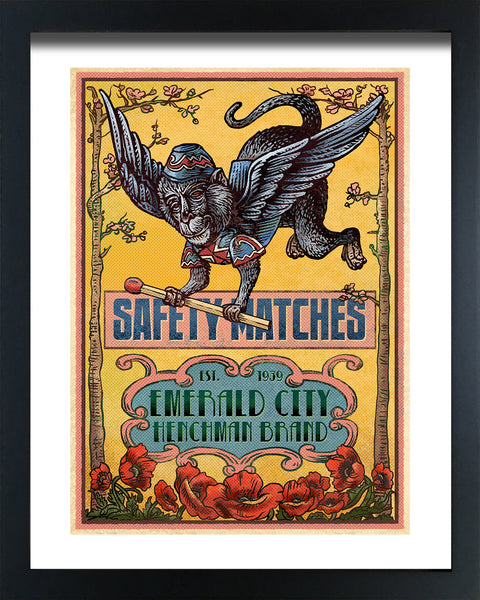 "Chet Phillips ""Oz"" Framed Print"