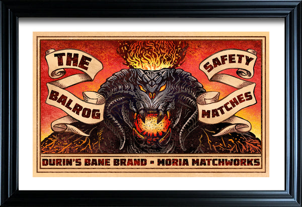 "Chet Phillips ""The Balrog"" Framed Print"