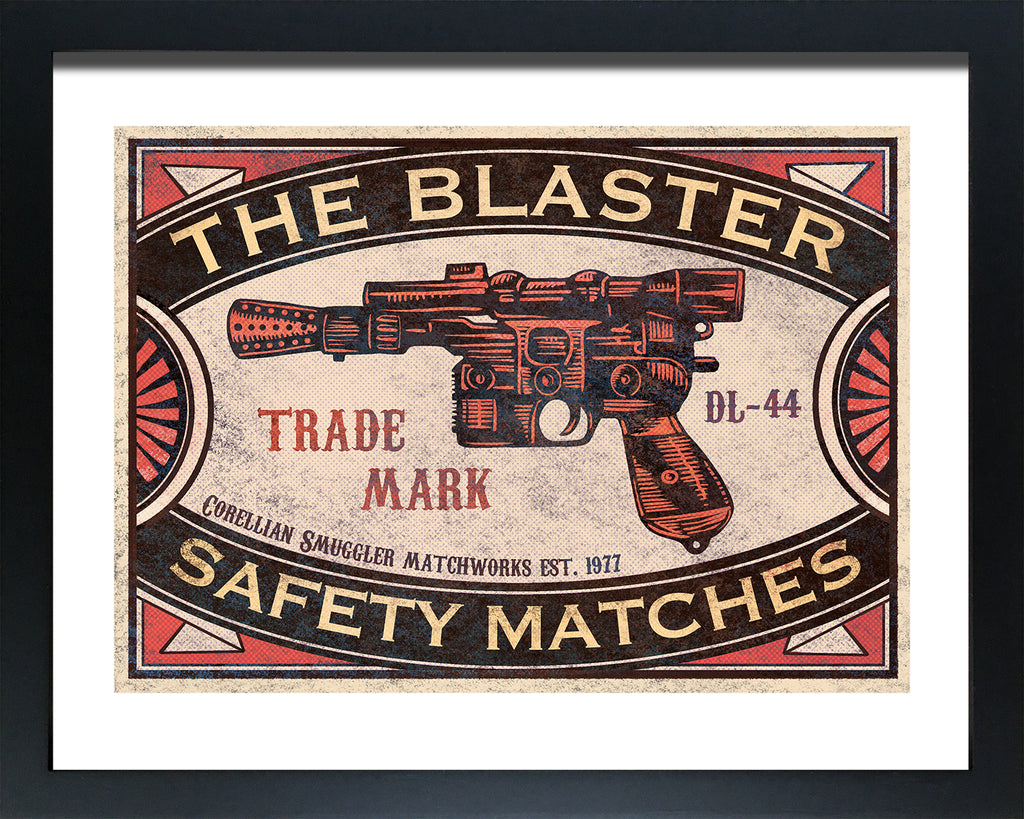 "Chet Phillips ""The Blaster"" Framed Print"