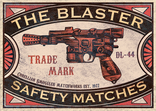 "Chet Phillips ""The Blaster"" Print"