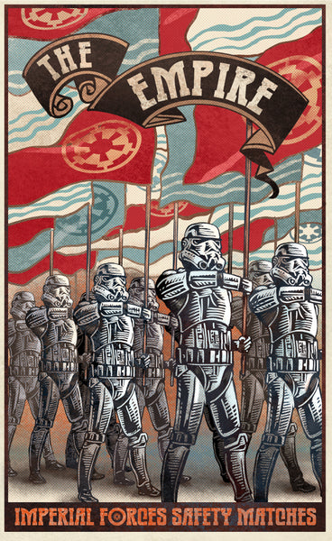 "Chet Phillips ""The Empire"" Print"