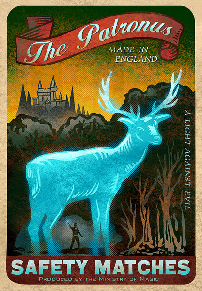 "Chet Phillips ""The Patronus"" Print"