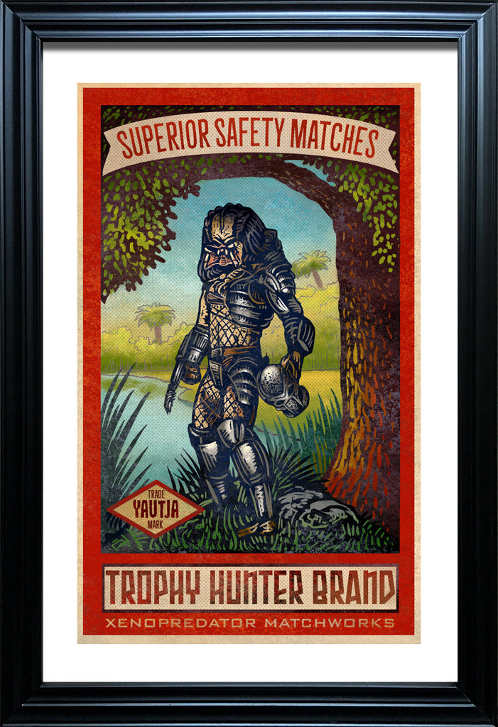 "Chet Phillips ""Trophy Hunter"" Framed Print"
