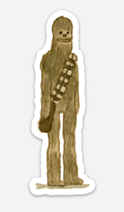 ".Scott C. ""Chewie Showdown"" Sticker"