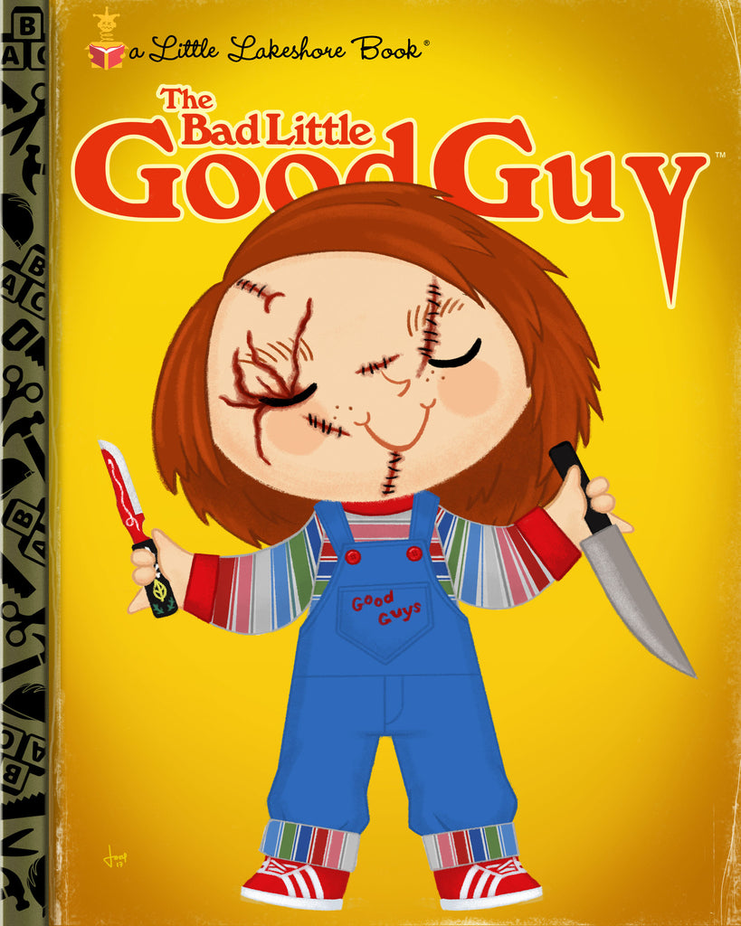 "Joey Spiotto ""The Bad Little Good Guy"" Print"