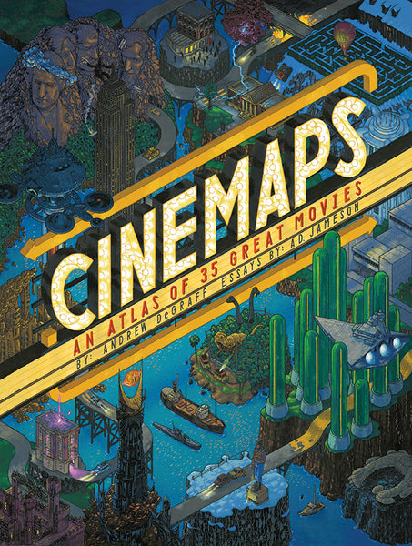 "Andrew DeGraff ""Cinemaps: An Atlas of 35 Great Movies"" Book"