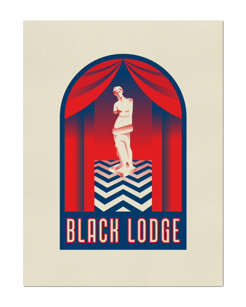 "Clark Orr ""Black Lodge"" Print"