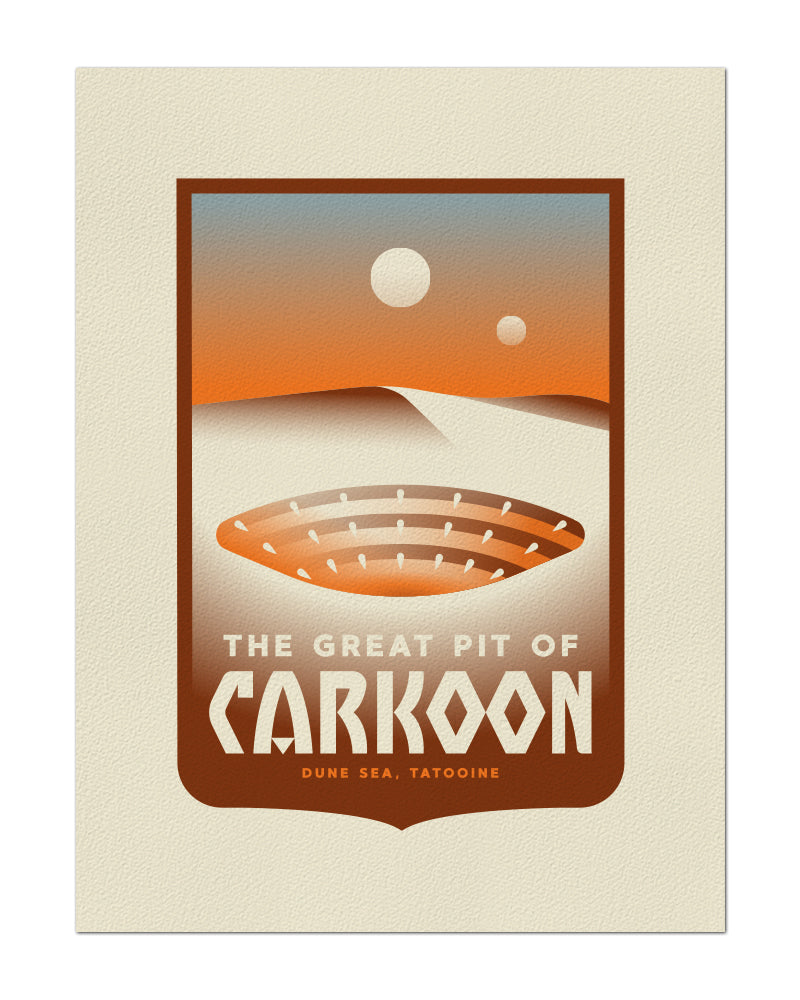 "Clark Orr ""The Great Pit of Carkoon"" Print"
