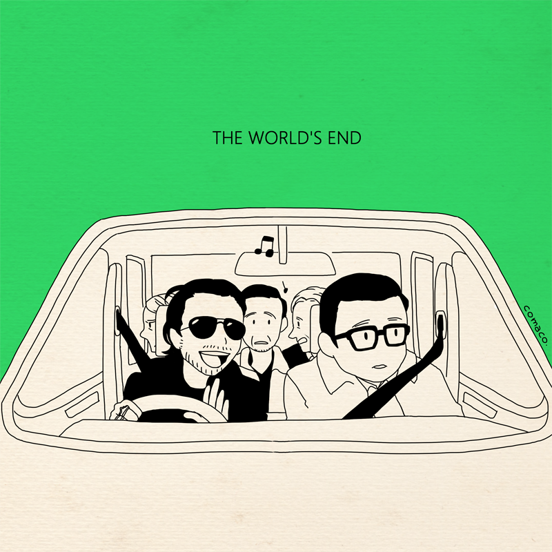 "Comaco ""The World's End - 2"" Print"