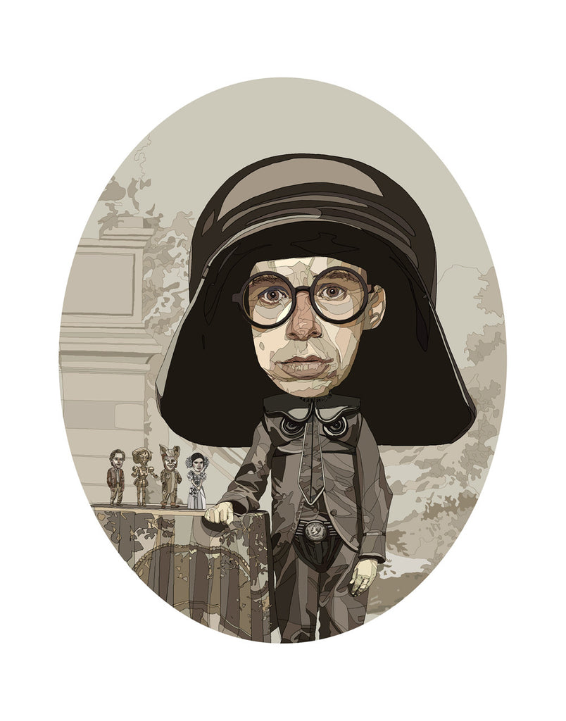"Conor Langton ""Mr. Dark Helmet"" Print"