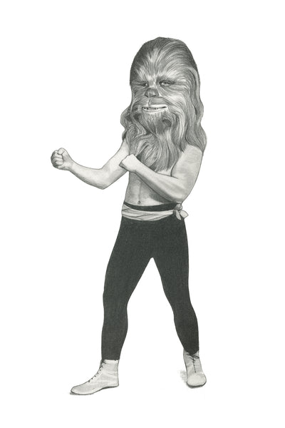 "Conor Langton ""Boxing Chewbacca 1"""