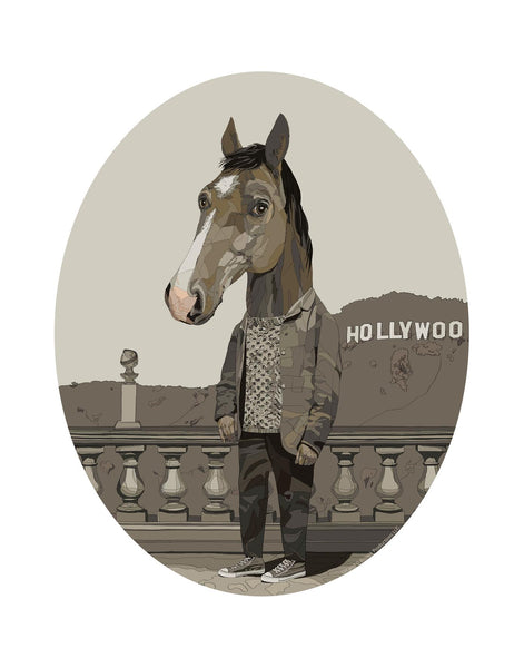 "Conor Langton ""Mr. Horseman"" Print"