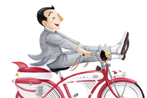 "Cori Doerrfeld ""A Boy and His Bike"" Print"