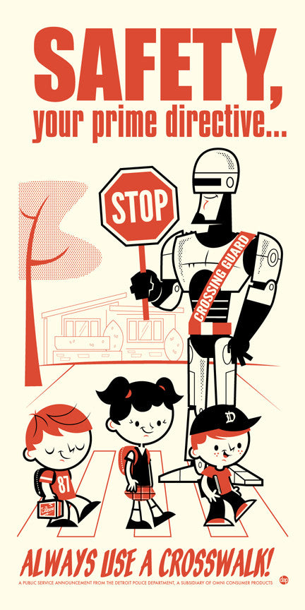 "Dave Perillo ""Safety, Your Prime Directive"" Print"