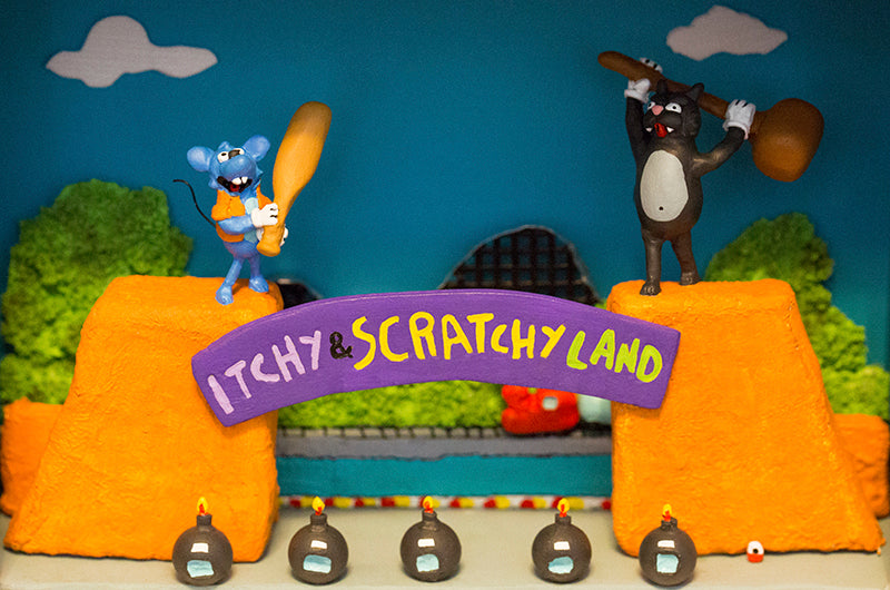"Cuddles and Rage ""Itchy and Scratchy Land"""