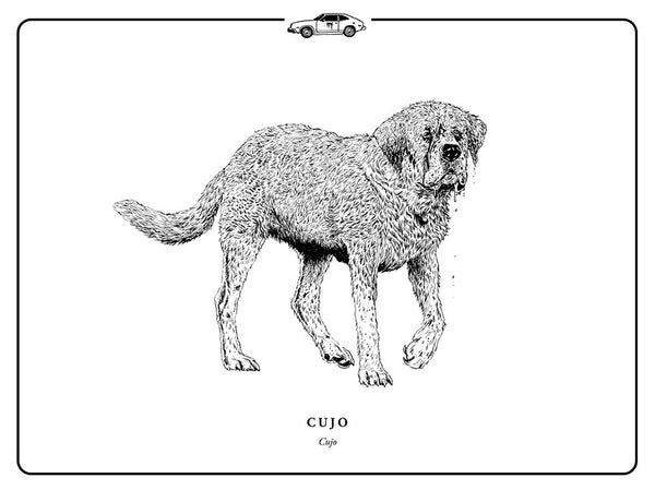 "Evan Yarbrough ""Cujo"" Print"