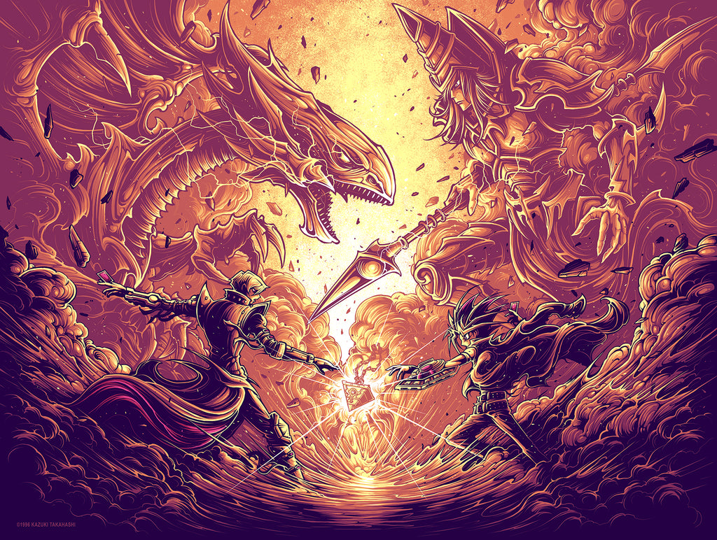 "Dan Mumford ""It's time to duel. Variant"" Print"