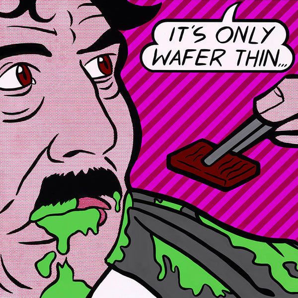 "Dan Litzinger ""It's Only Wafer Thin"" Print"