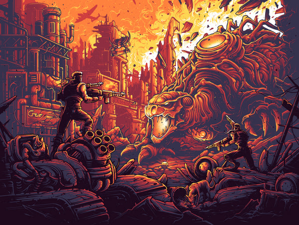 "Dan Mumford ""It's Time For Revenge"" Print"
