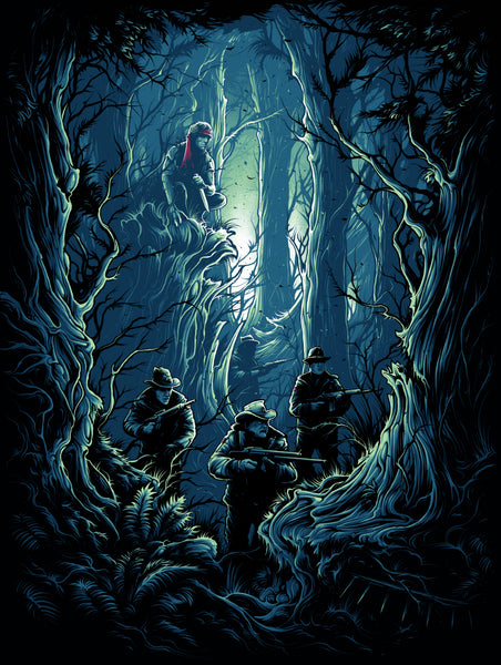 "Dan Mumford ""They Drew First Blood, Not Me."" Framed Print"