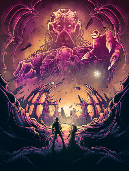 "Dan Mumford ""Power Is Fleeting. Love Is Eternal"" Print"