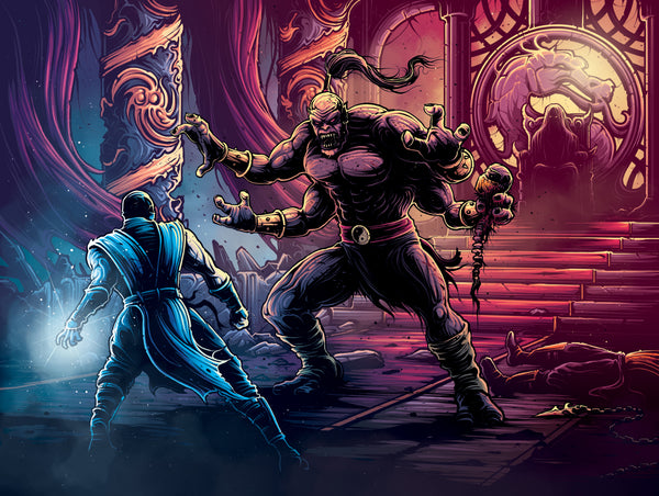 "Dan Mumford ""FINISH HIM!"" Print"
