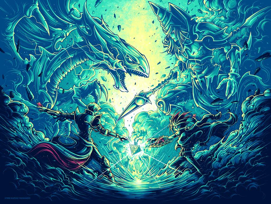 "Dan Mumford ""It's time to duel."" Poster"