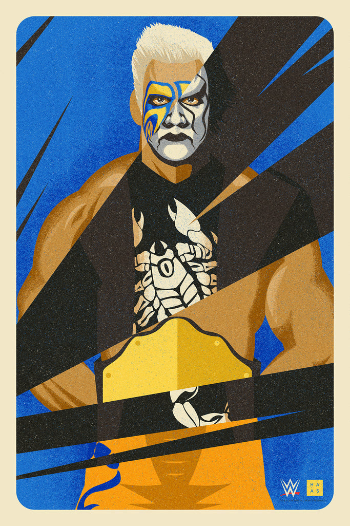 "Danny Haas ""The Scorpion"" Print"