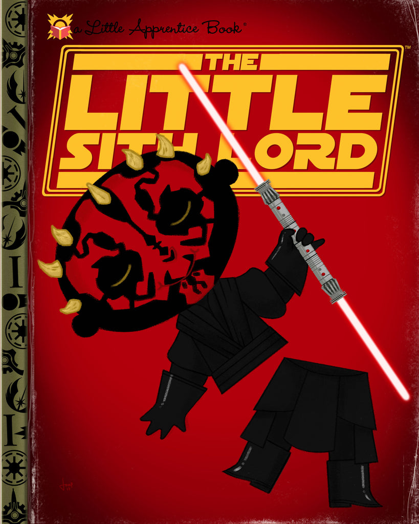 "Joey Spiotto ""The Little Sith Lord"" Print"