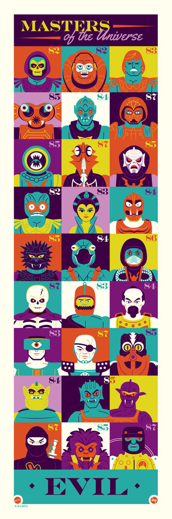 "Dave Perillo ""Eternia's Most Evil"" Print"