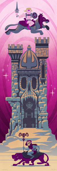 "Dave Pryor ""Castle Grayskull"" Print"