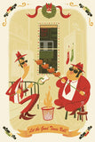 "Dave Pryor ""Let the Good Times Roll"" Postcard Print"