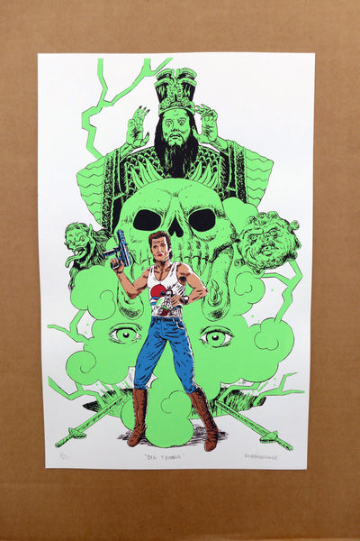 "David Eichenberger ""Big Trouble"" Print"