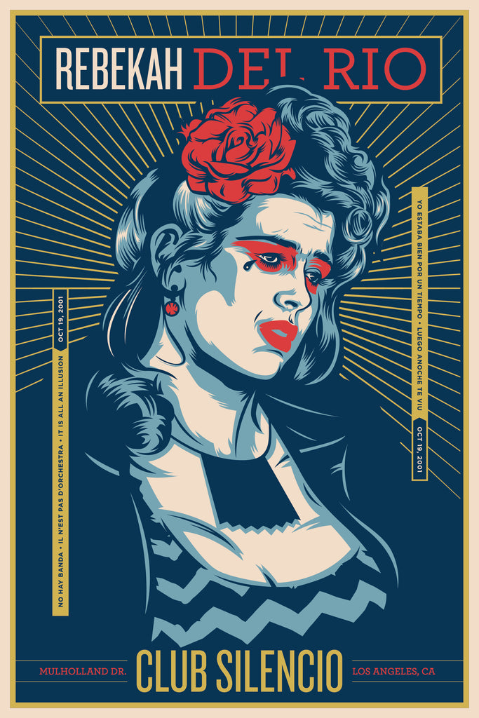 "Jeffrey Everett / Rockets Are Red ""Rebekah Del Rio"" Print"