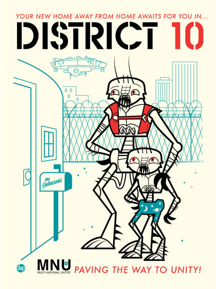 "Dave Perillo ""District 10"" Print"