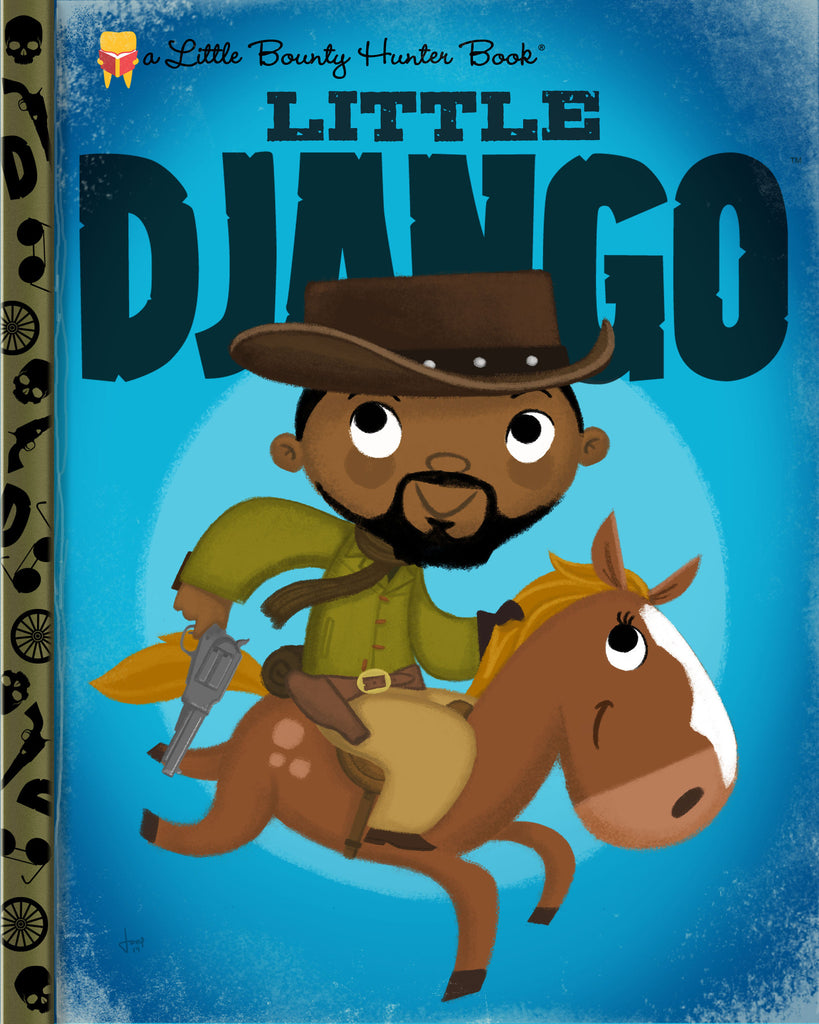 "Joey Spiotto ""Little Django"" Print"