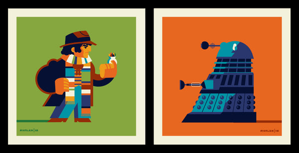 "Tom Whalen ""Doc Vs Exterminator"" Print Set"