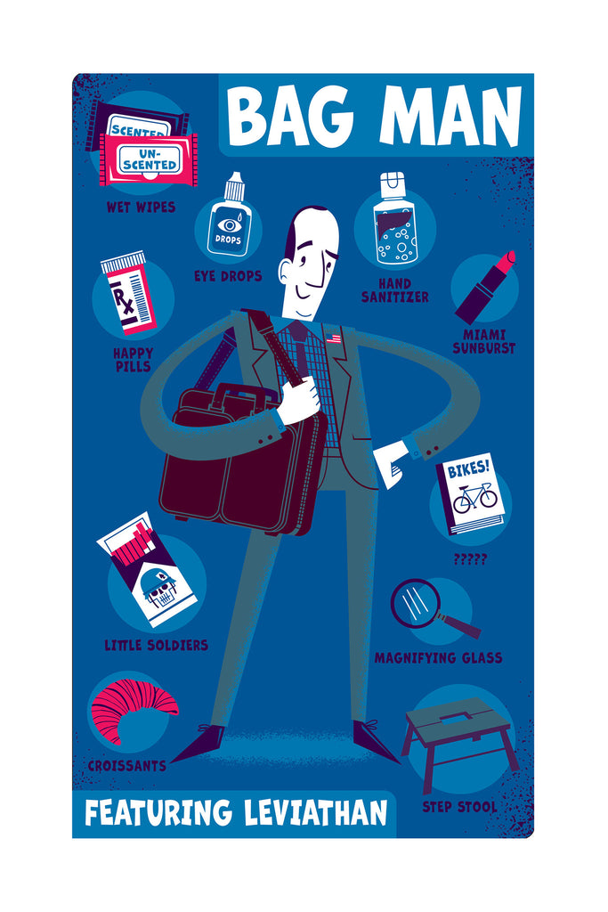 "Doug LaRocca ""Bag Man"" Print"