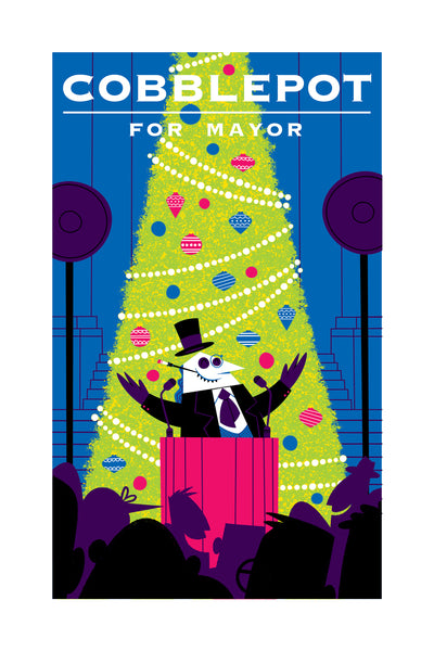 "Doug LaRocca ""Cobblepot for Mayor"" Print"
