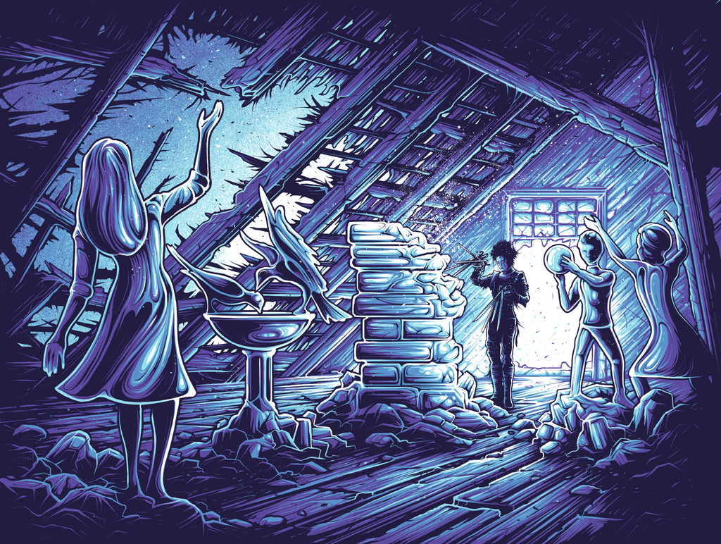 "Dan Mumford ""I would rather have him remember me the way I was."" Print"