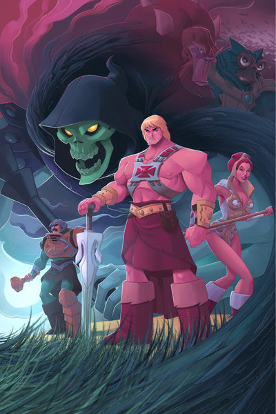 "Emiliano Santalucia ""My MOTU Buddies"" Canvas Print"